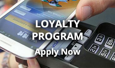 Apply loyalty program